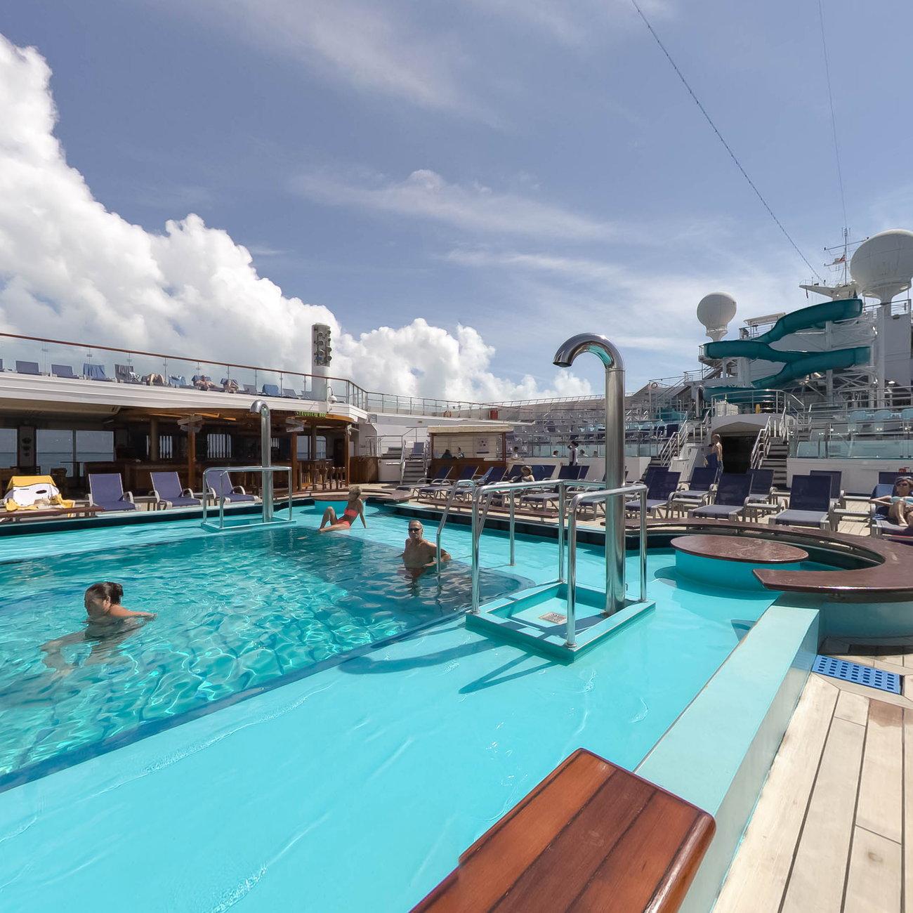 Pool on Carnival Glory Cruise Ship - Cruise Critic