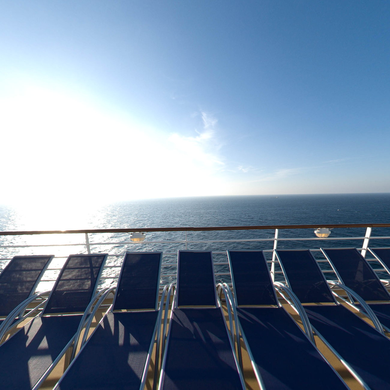 Panorama of The Sky Deck on Harmony of the Seas