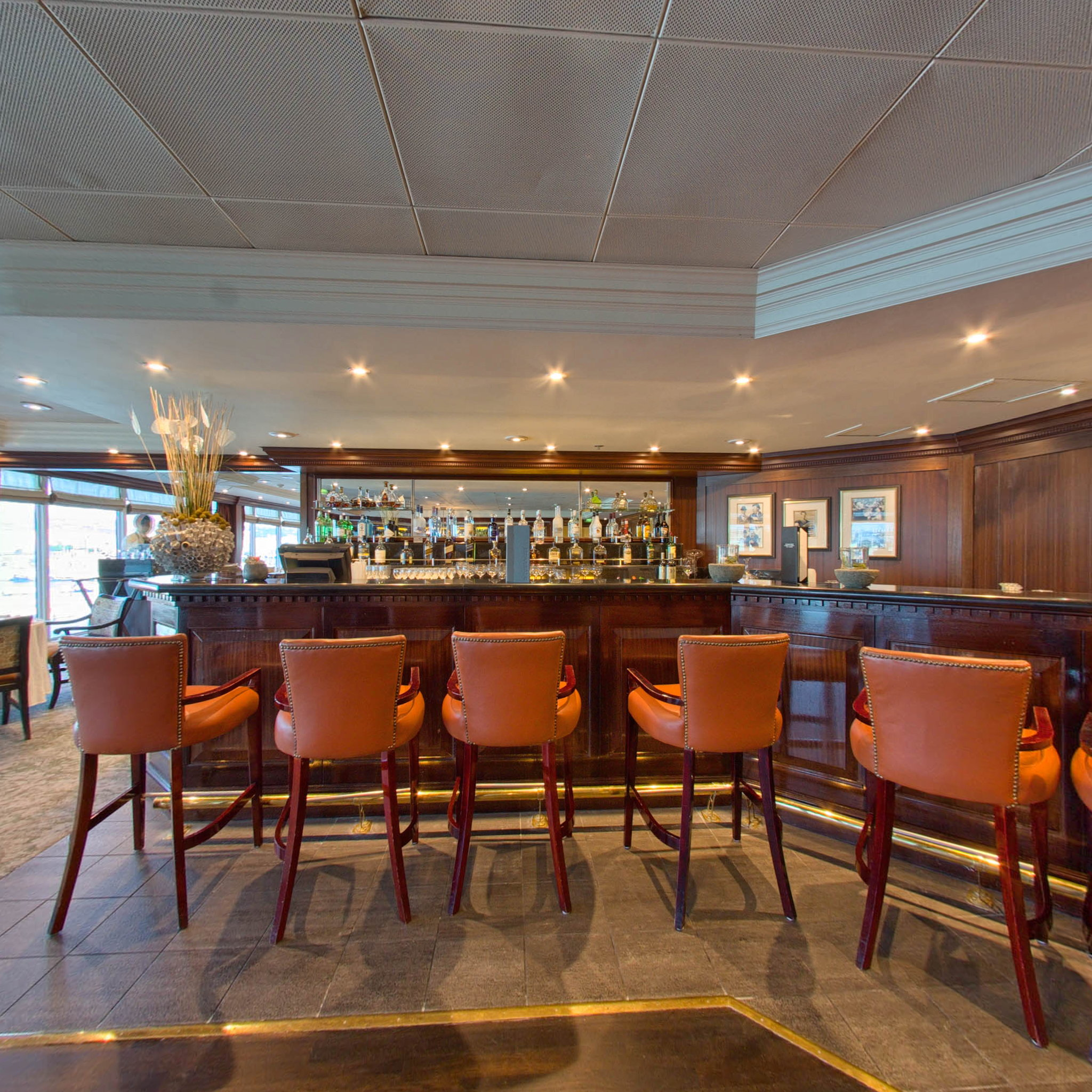 Panorama of Prime C Restaurant on Azamara Journey