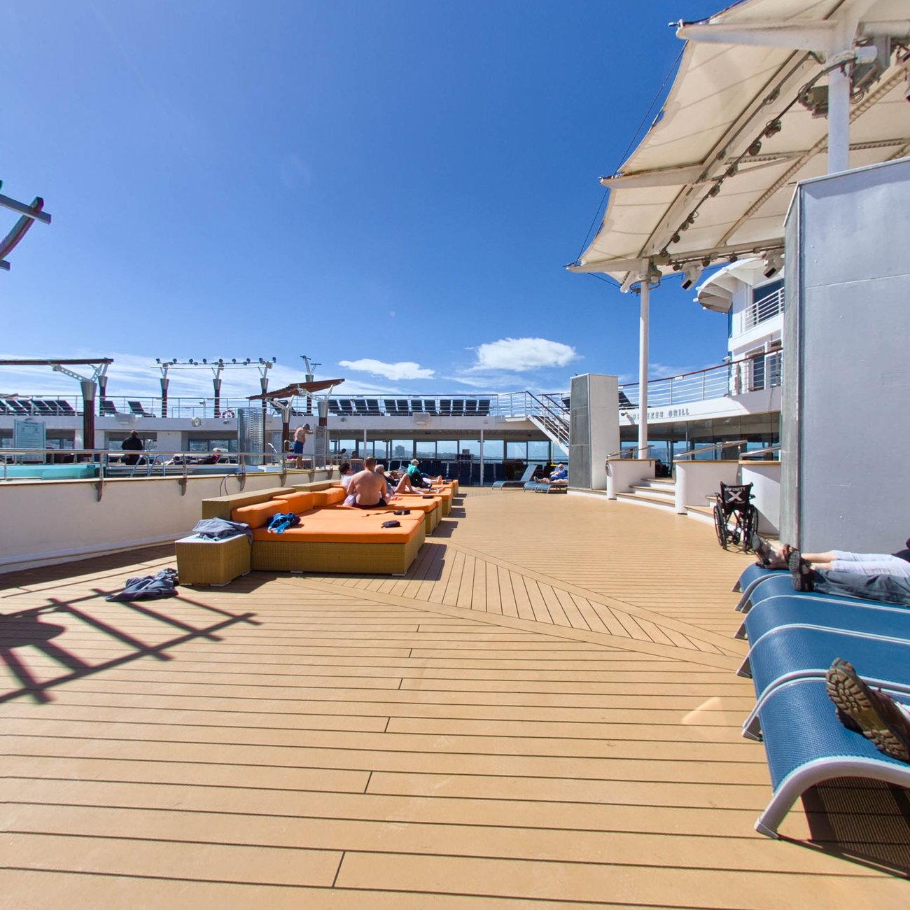 pool on celebrity infinity cruise ship  cruise critic