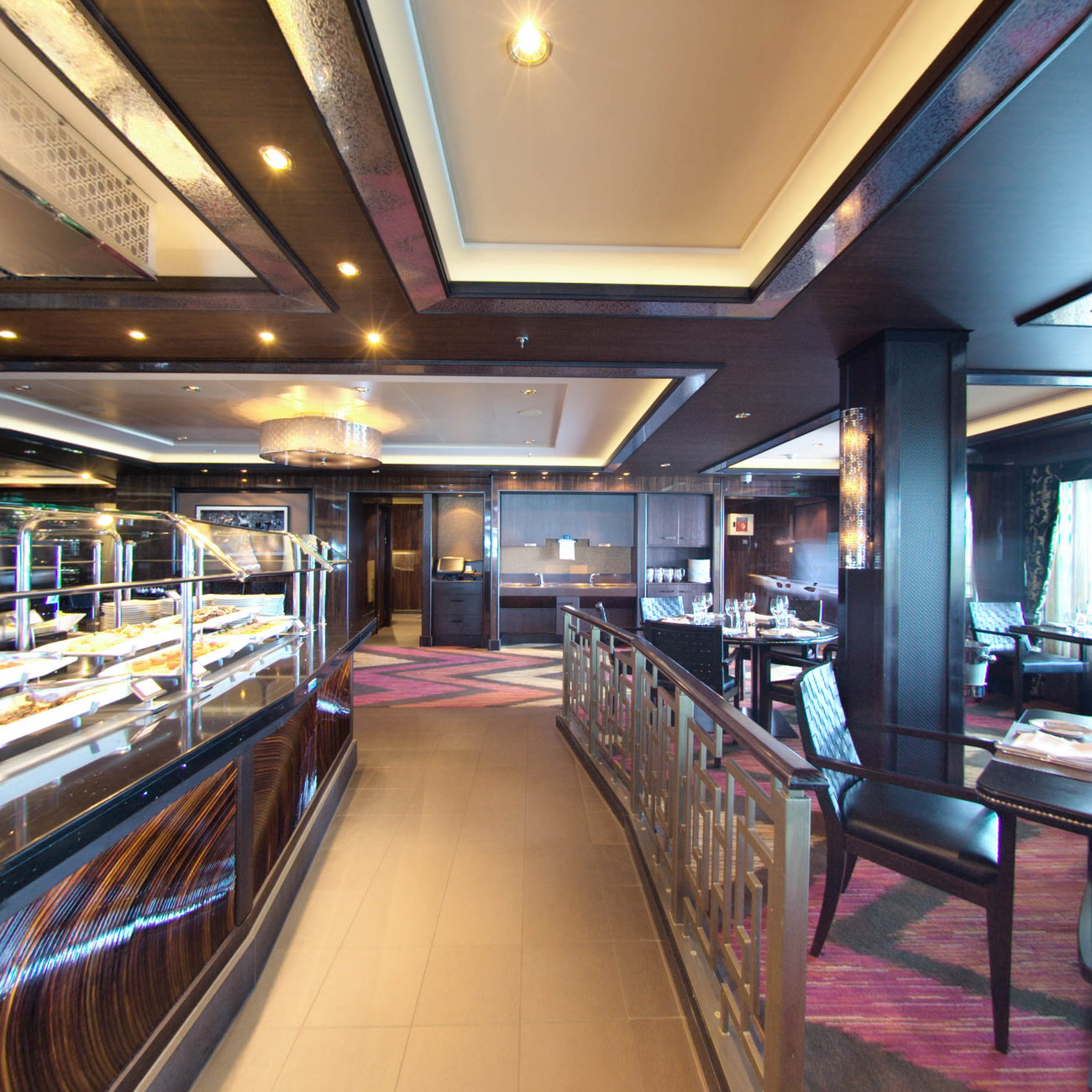 Panorama of Moderno Churrascaria on Norwegian Getaway
