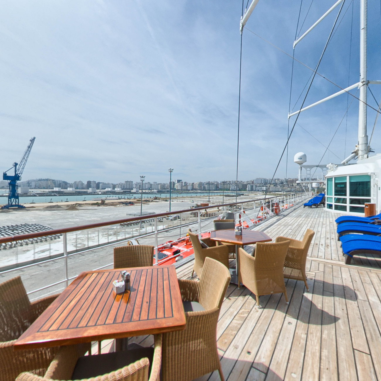 Panorama of Veranda on Wind Surf