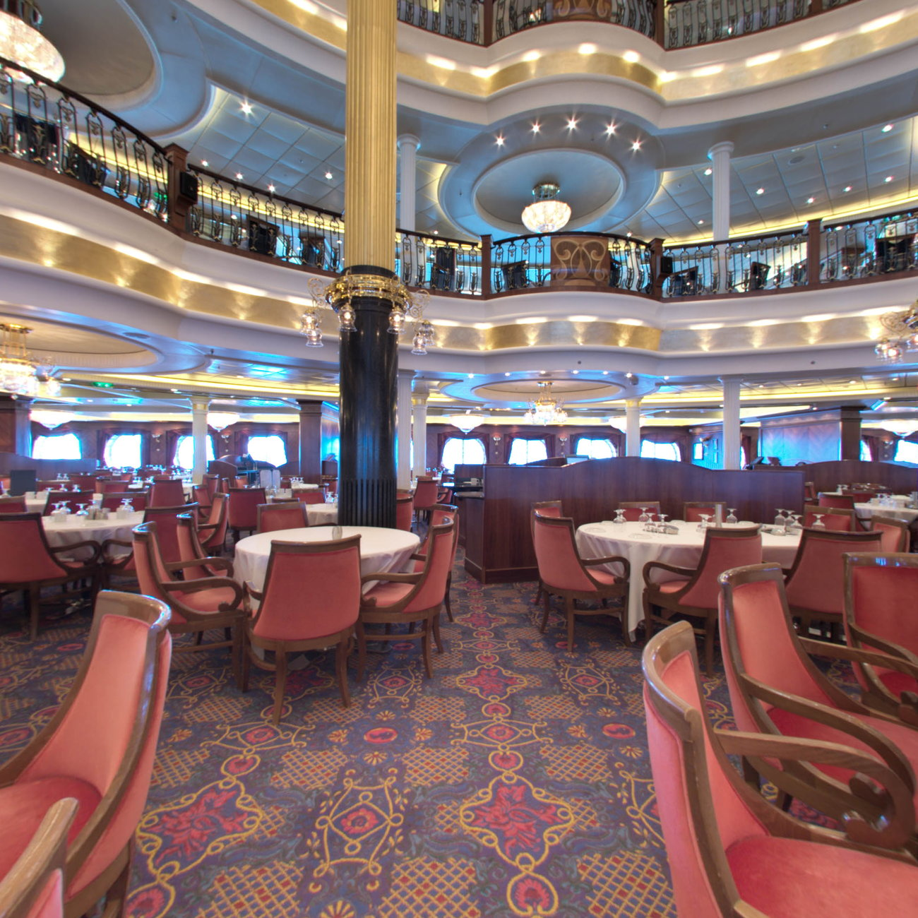 Main Dining Room: Main Dining Rooms On Royal Caribbean Freedom Of The Seas