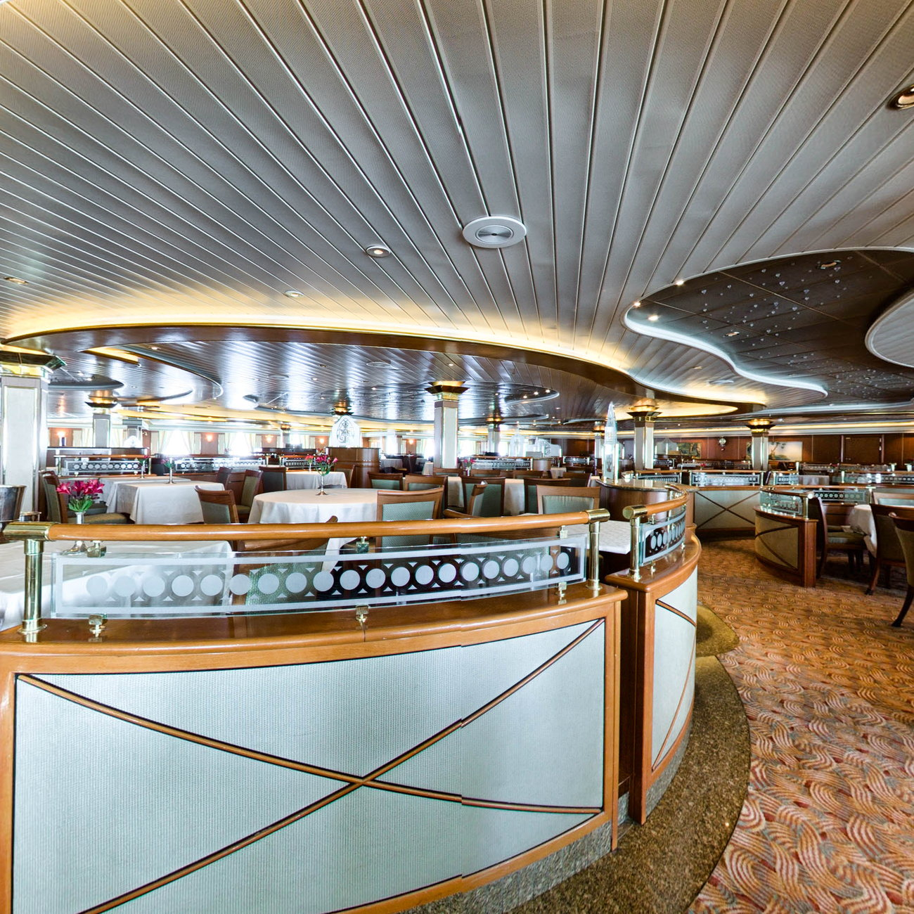 Panorama of Provence Dining Room on Island Princess
