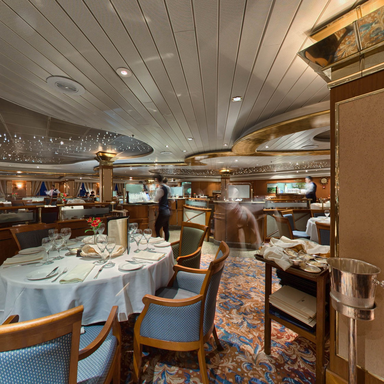 Panorama of Provence Dining Room on Coral Princess