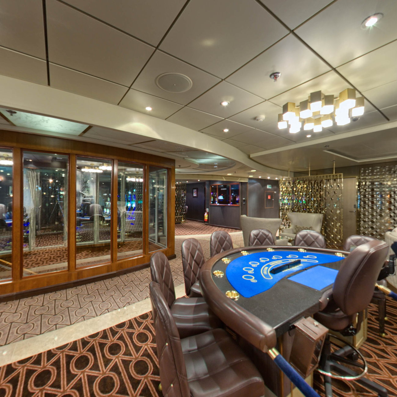 Panorama of Casino on Seven Seas Navigator