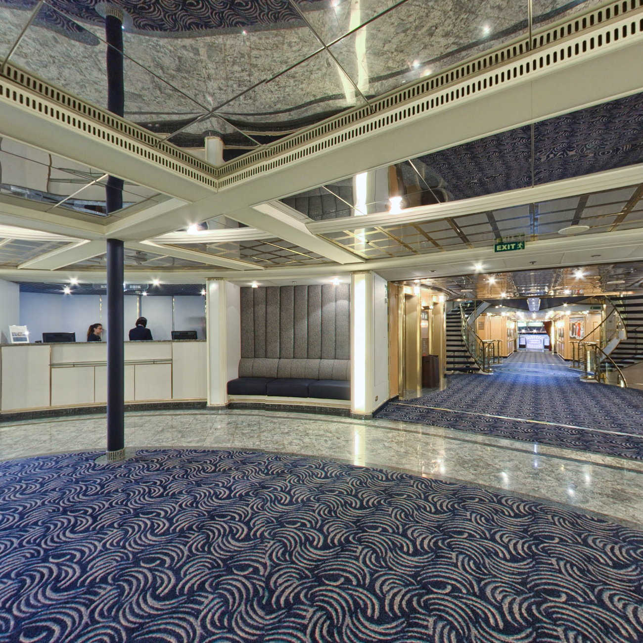 Panorama of Reception on Silver Cloud Expedition