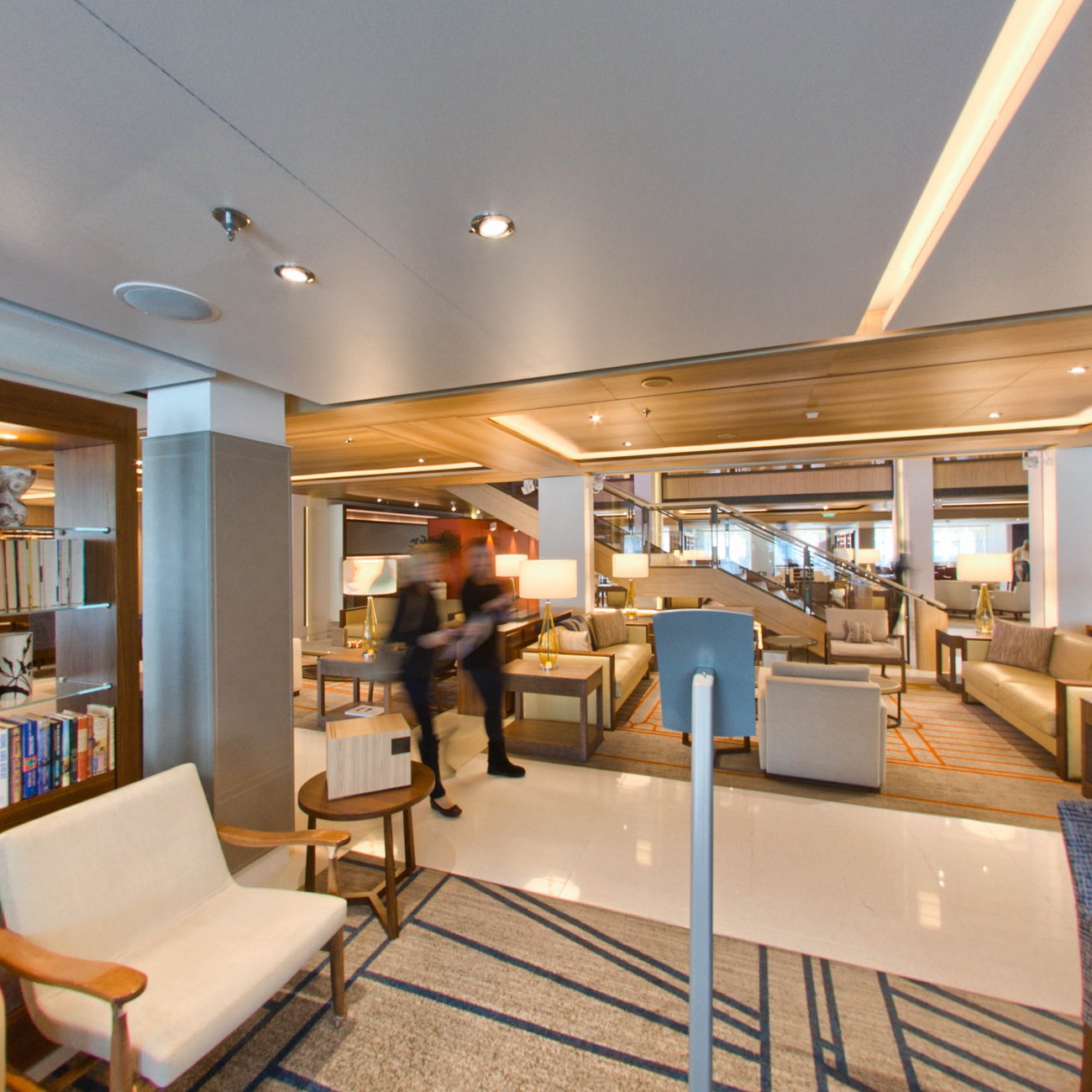 Panorama of Shore Excursions Desk on Viking Sky