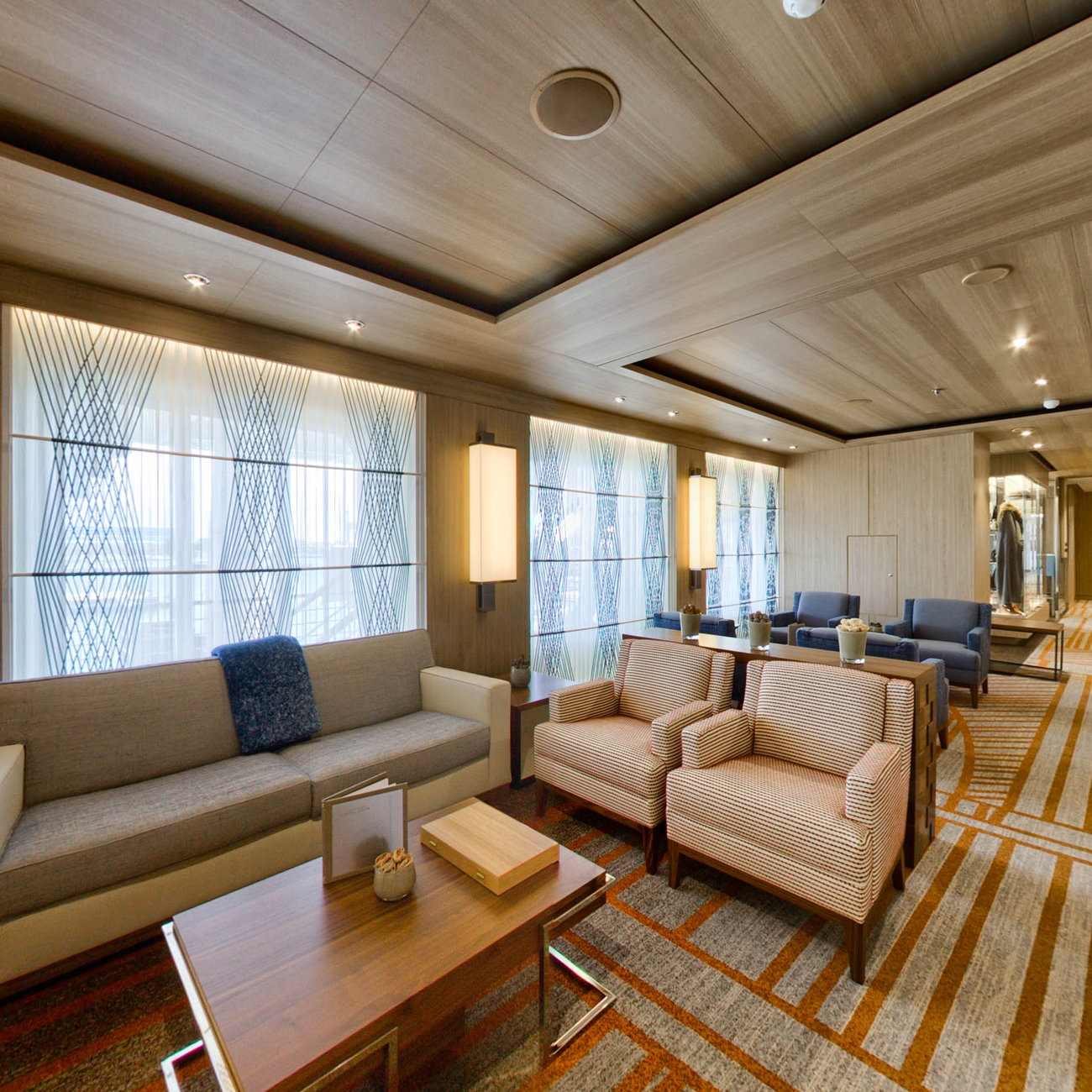 Panorama of The Living Room on Viking Orion