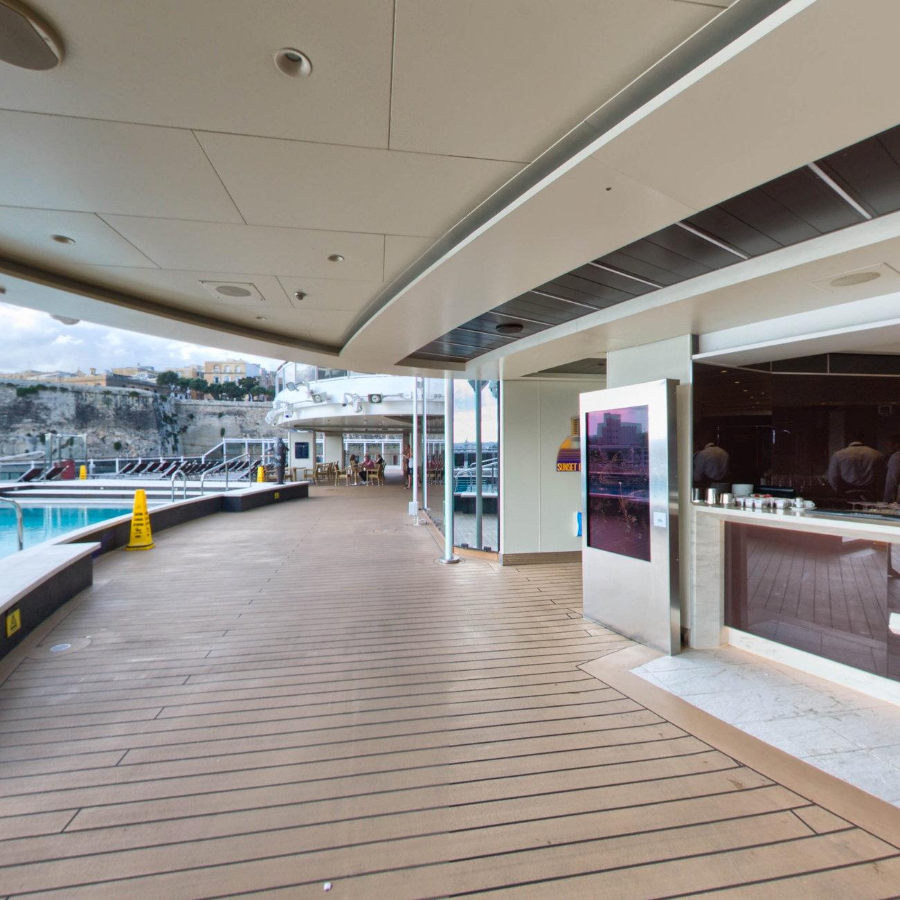 Sunset Beach Bar on MSC Seaview Cruise Ship - Cruise Critic