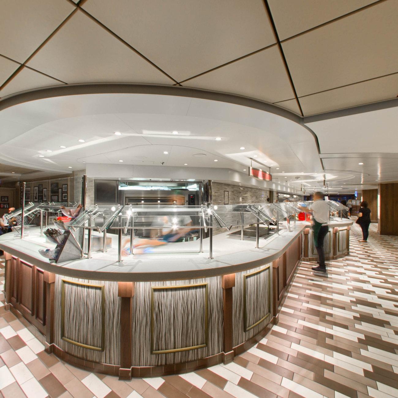 Ocean Point Restaurant & Buffet on MSC Seaview Ship ...