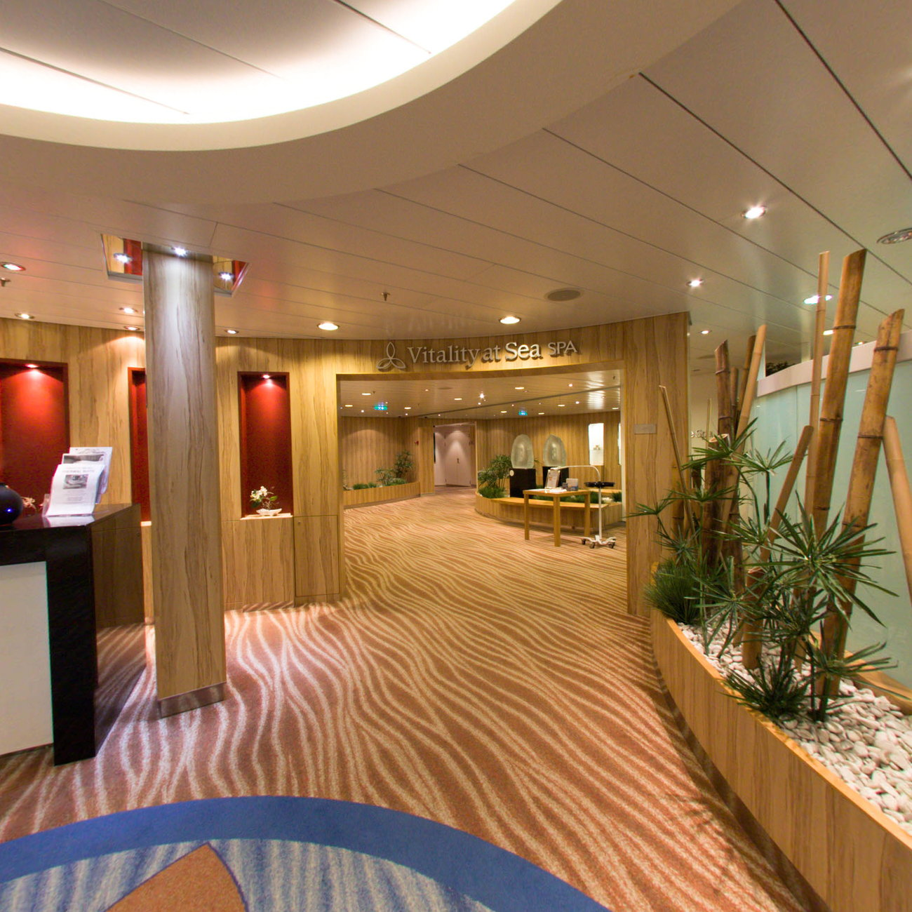 Panorama of Vitality Spa on Oasis of the Seas