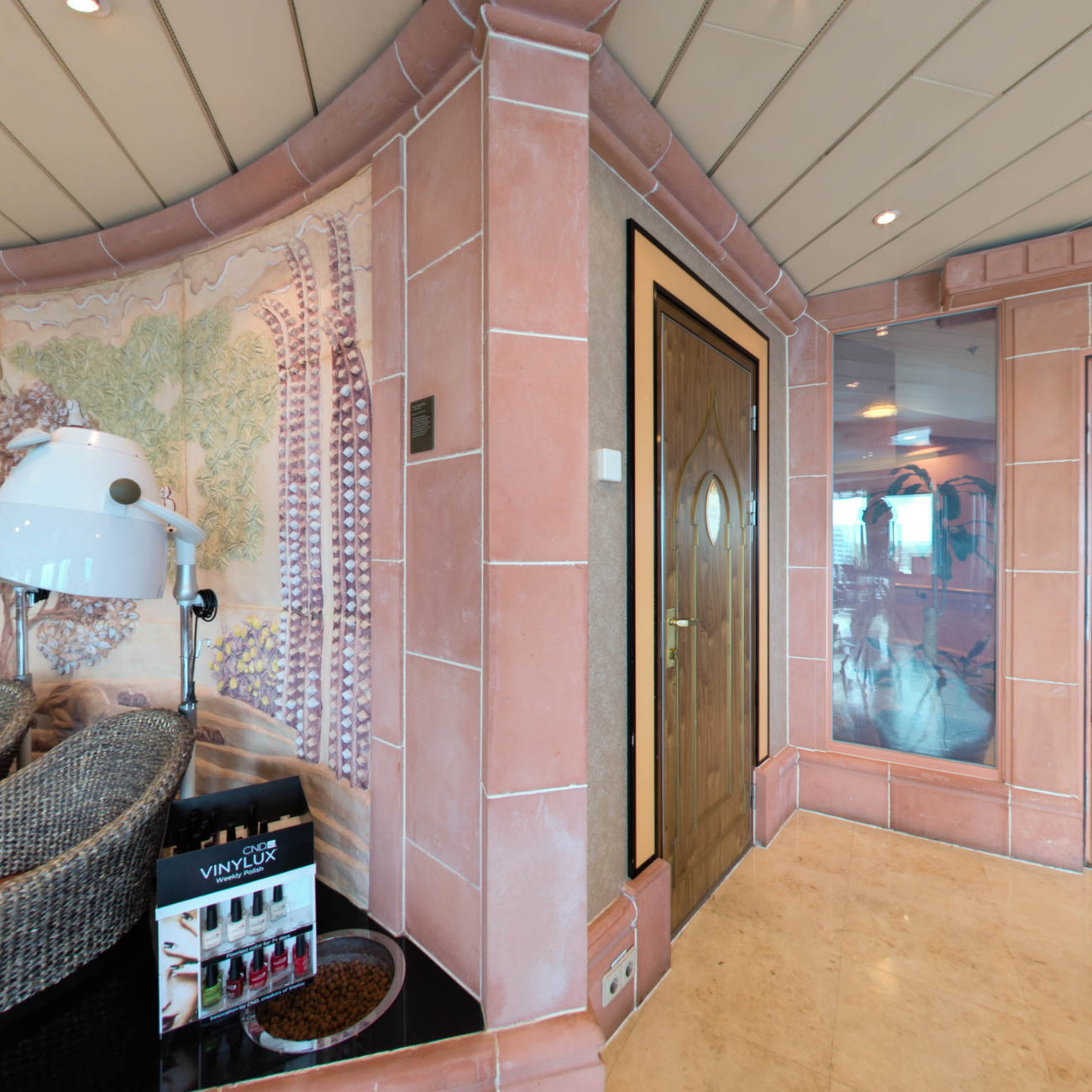 Panorama of Vitality Spa & Salon on Brilliance of the Seas