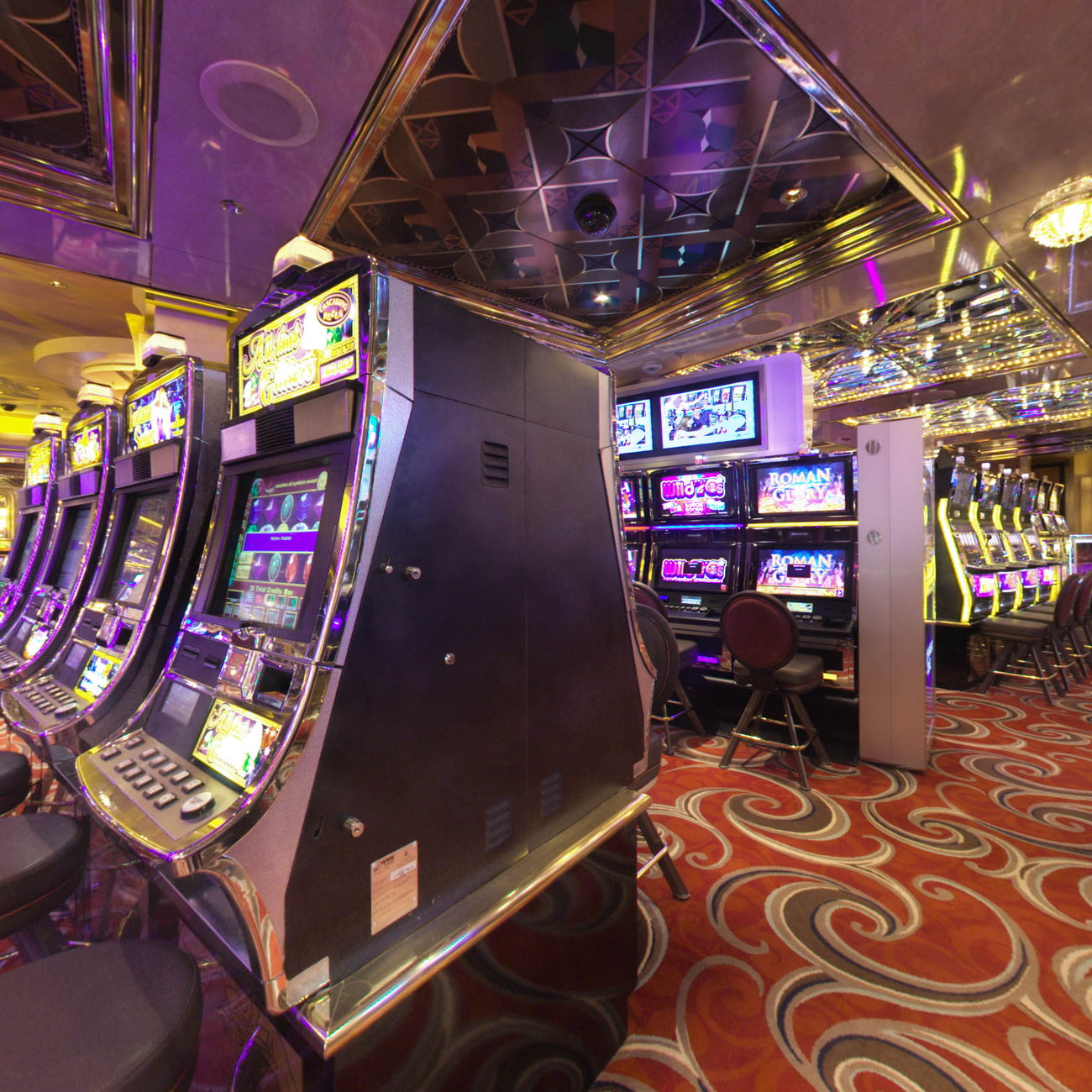 Panorama of Fortunes Casino on Celebrity Constellation