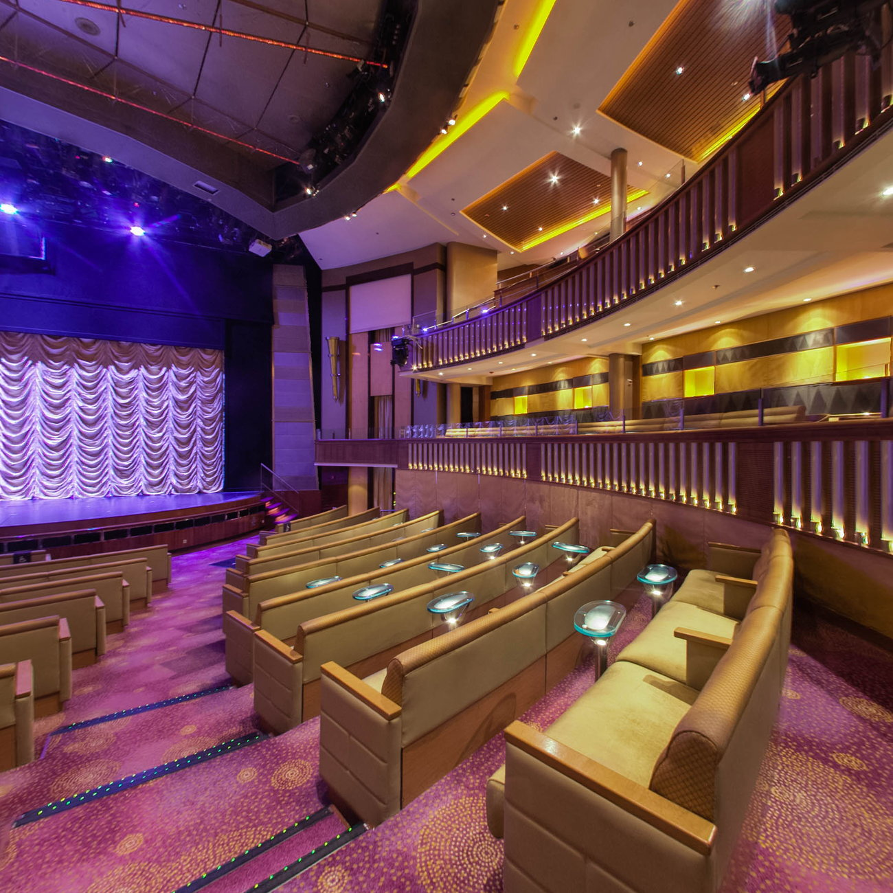 Panorama of Celebrity Theater on Celebrity Constellation
